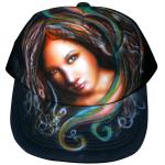 Paint on mesh cap