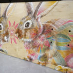 Pair of Rabbits -Skatedeck
